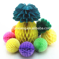 Customized honeycomb fruit products summer party decorations
