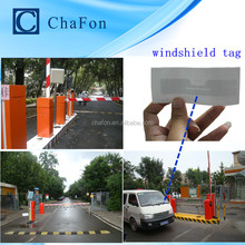 rfid parking lot management system use UHF long range integrated reader and UHF windshield tags provide SDK ,demo software