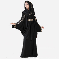 2015 latest arab fashion design dubai women muslim black abaya