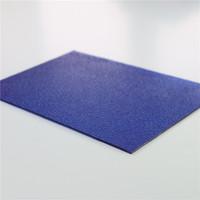 100% virgin Bayer Markrolon bulletproof pc solid embossed sheet/ polycarbonate sheet