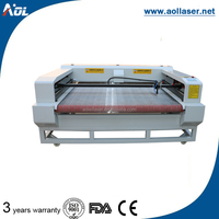 AOL-1610 automatic roll fabric laser cutting machine