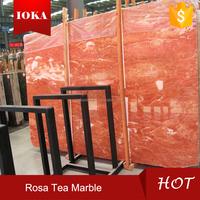 Natural Rosa Tea Pink Marble Tile