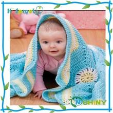Super beautiful new design baby crochet cotton blanket