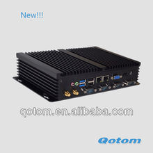 latest new model mini computer,thin client market,desktop computer,industrial grade computer,VGA+HDMI+2 LAN+4 RS232+WIFI+USB 3.0