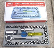 KEY POINT 40PC car and motorcycle repair tool sets