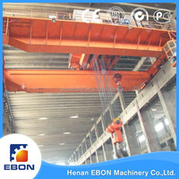 QD Type 250 ton Overhead Crane Widely Used In Much Application Double Girder Overhead Crane