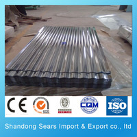 EN 10142:1990 high rib roofing sheet new wave roofing sheet