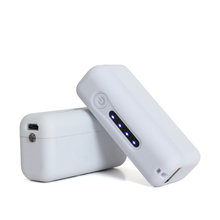 2015 Hot Sale Fashionable and Colourful Cute Domino 2200mAh Manual for Power Bank