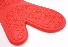 Heat Resistant Silicone Oven Mitts/silicone oven Gloves with cotton liner ,heat resistant gloves for food