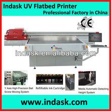 Indask F2518 large format high resolution inkjet printer mobile phone uv printer, iphone printing machine