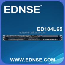 ED104L65-A 1 x CD-ROm and 4 x 3.5 Rackmountable 1U Server Case