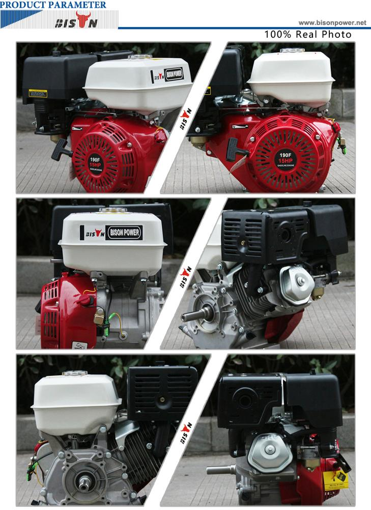 15hp gasoline engine 15 hp BS190F 8