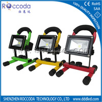 2014 New Products Battery Powered LED Flood Lighting Rechargeable led light 10w