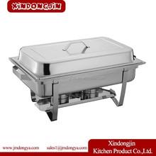 T433 Full size Stainless Steel Buffet Chafer,Buffet Pot,Hot Plate For Buffet