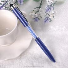 Promotion ball pen gifts metal gift ballpoint pen Customized design cristal ball pen for wedding