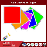 Hot sale Factory price 6060 36W remote control and dimmable rgb led panel light