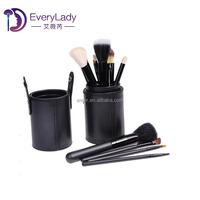 12 set private label cosmetic samples free rose gold nose makeup brush