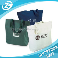 Beautiful Lovely Zipper Heavy 100% Cotton Canvas Tote Bag Factory