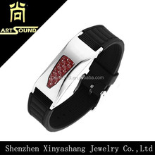 wholesale wrap anti-static magnetic silicon bracelet from china