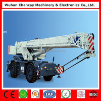 Cheap price high quality RT75/35/55/100 off-road rire crane 70 ton