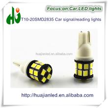 New style china supply T10 20SMD 2835 car turn signal light