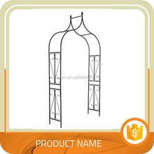 trade assurance popular outdoor metal garden arch/ metal frame pergola