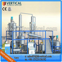 VTS-DP continuous oil refining equipment, waste oil recycling to diesel, oil purifier centrifuge machine