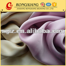 Fabric textile supplier China wholesale Fashion polyester satin fabric for dress