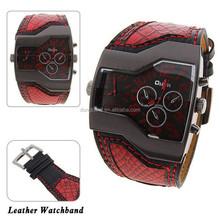 Simple atmospheric business watch slim quartz watch fashion leisure men's table waterproof strip Genuine watches china supplier
