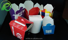 Chinese noodle packaging paper boxes/noodle take out boxes