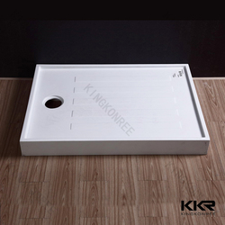 low base portable shower tray