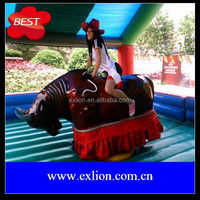Exlion supply super quality Inflatable mechanical bull