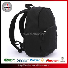 2015 Wholesale Custom Canvas Backpack Bag with Compartment for ipad