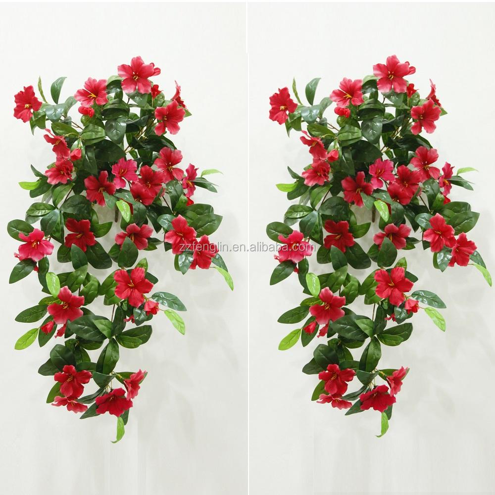 Cheap Wholesale Long 80cm Artificial Fake Hanging Flower