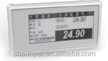 Dot-matrix pixel, reflecting display electronic shelf lable/high speed RF transmission e-paper price lable/e-tag/esls