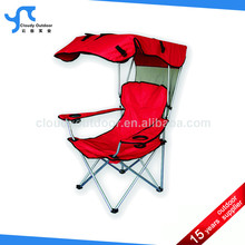 camping and folding chair with canopy