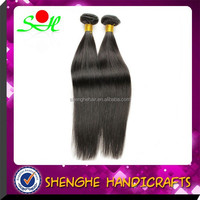 2015 Hot Sell 26 Inch Nature Color 100%Virgin Human Hair Straight Peruvian Hair