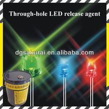 Calor- resistente antioxidante del molde agente de liberación para la luz led