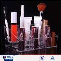 Acrylic perfume display stands/brush display stand/makeup box case