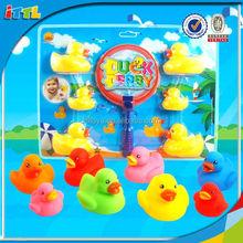 toys colorful vinyl ducks silicone toys mini kids play toys