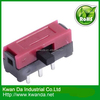 3 pin mini slide switch 1p2t Black and Red color