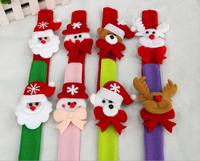 2015 Christmas Novelty Santa Elk Character Slap Wristband Factory Wholesale Xmas Jewelry Bracelet