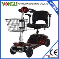 CE approved simple operation mobility scooter with cabin for sale