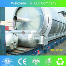 full-automatic continuous computer control tyre pyrolysis plant with CE