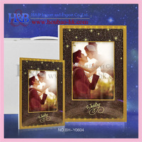 top quality fationable LED light color changing wedding photo album