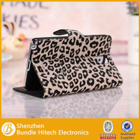 Card Slot Stand Leopard Grain Leather Case For samsung galaxy note3 N9000
