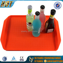 beverage plastic serving tray for bar