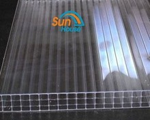triple wall polycarbonate sheet multi size hard plastic solar panels