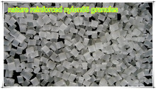 Glass fiber reinforced nylon granules pa66- gf15 pellets for injection molding