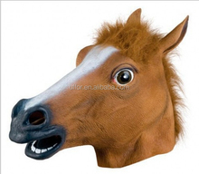 Creepy Horse Mask Head Halloween Costume Theater Prop Novelty Animal Mask